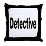 Detective Throw Pillow