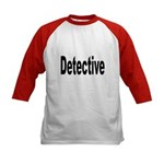 Detective (Front) Kids Baseball Jersey