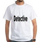Detective (Front) White T-Shirt