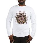 Gaelic Halloween Shield Long Sleeve T-Shirt