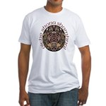 Gaelic Halloween Shield Fitted T-Shirt