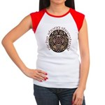 Gaelic Halloween Shield Women's Cap Sleeve T-Shirt