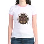 Gaelic Halloween Shield Jr. Ringer T-Shirt
