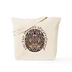 Gaelic Halloween Shield Tote Bag