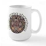 Gaelic Halloween Shield Large Mug