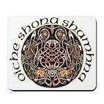 Gaelic Halloween Shield Mousepad