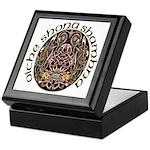 Gaelic Halloween Shield Keepsake Box