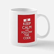 Keep Calm and Follow the Code Mug