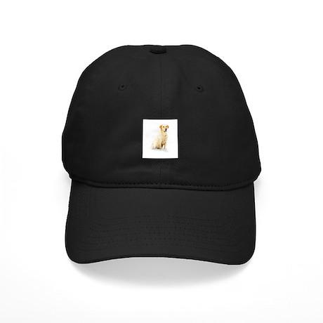 Labrador Retriever & Snowflakes Black Cap