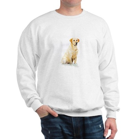 Labrador Retriever & Snowflakes Sweatshirt