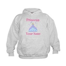 Blond Princess Personalized Hoodie