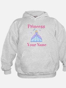 Blond Princess Personalized Hoody
