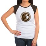 Make Out With That...Moose Women's Cap Sleeve Tee