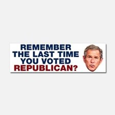 Remember the Last Time You Voted Republican? Car M