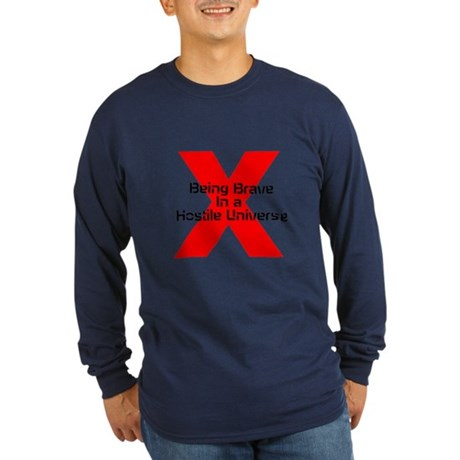 RDX Being Brave Long Sleeve Dark T-Shirt