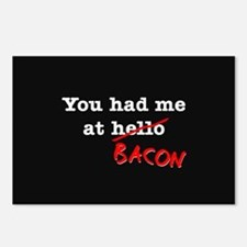 Bacon You Had Me At Postcards (Package of 8)