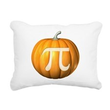 Pumpkin Pi Rectangular Canvas Pillow