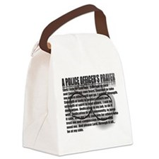 A POLICE OFFICERS PRAYER Canvas Lunch Bag