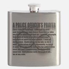 A POLICE OFFICERS PRAYER Flask