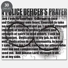 A POLICE OFFICERS PRAYER Puzzle