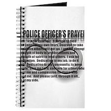 A POLICE OFFICERS PRAYER Journal