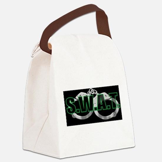 BLACKSWATGREEN.jpg Canvas Lunch Bag
