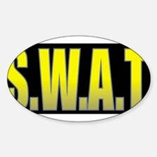 SWAT/BLACK Decal