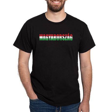 Hungary Black T-Shirt