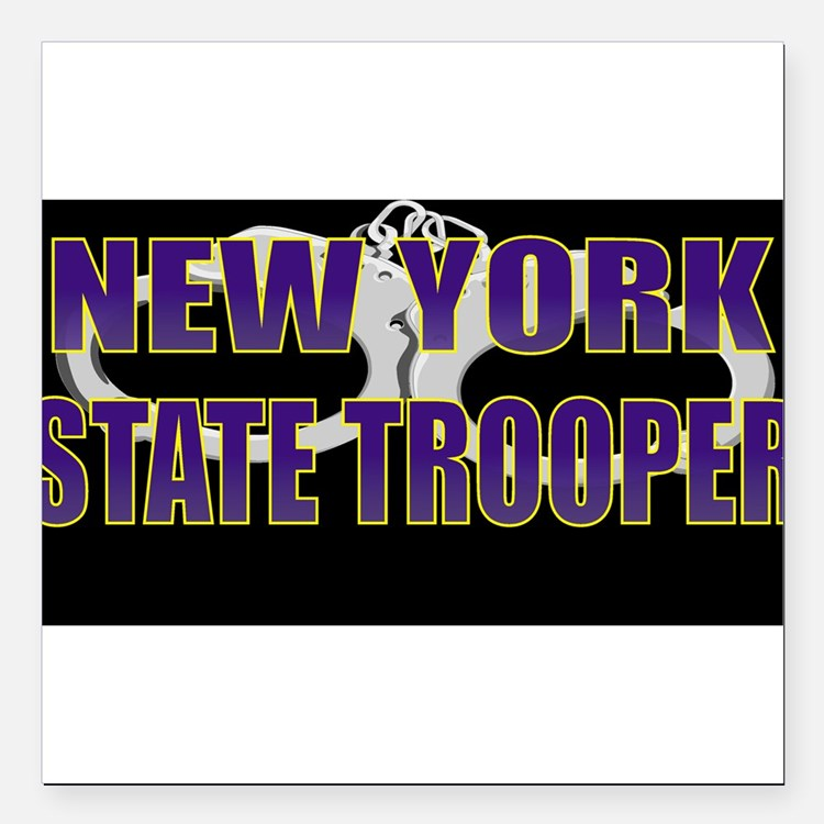"NYTROOPER5.jpg Square Car Magnet 3"" x 3"""