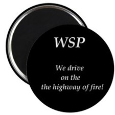 "WSP HIGHWAY OF FIRE 2.25"" Magnet (10 pack)"