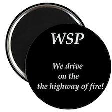 WSP HIGHWAY OF FIRE Magnet