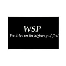 WSP HIGHWAY OF FIRE Rectangle Magnet