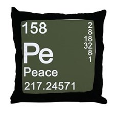 Element of PeaCe Throw Pillow