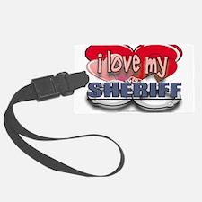 LOVESHERIFF.jpg Luggage Tag