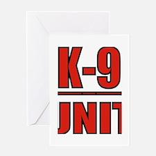 K-9UNITLOGO8.jpg Greeting Card
