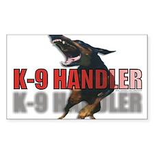 K9HANDLER.jpg Decal