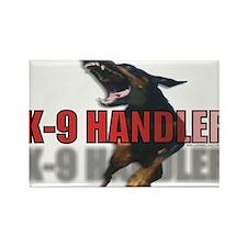K9HANDLER.jpg Rectangle Magnet
