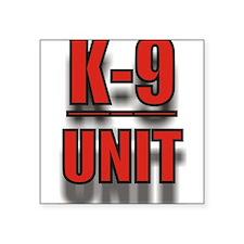 """K-9UNITLOGO8.jpg Square Sticker 3"""" x 3"""""""
