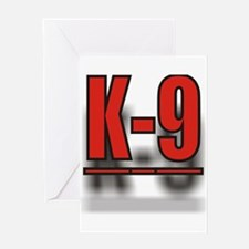 K-9UNITLOGO1.jpg Greeting Card