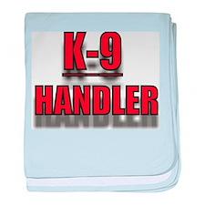K-9UNITLOGO7.jpg baby blanket