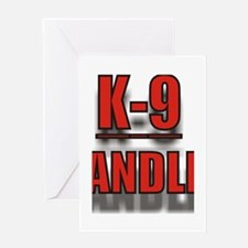 K-9UNITLOGO7.jpg Greeting Card