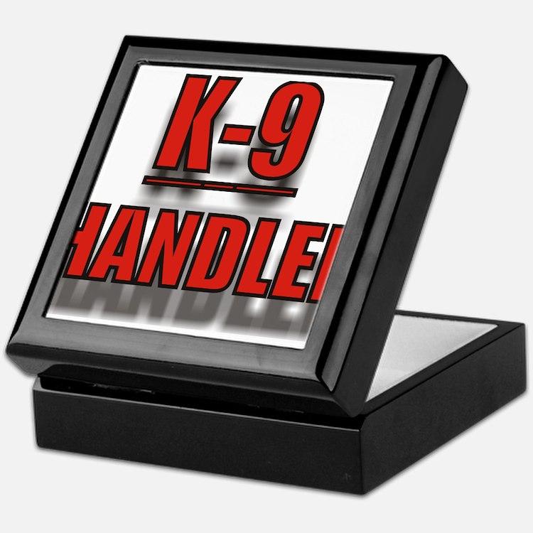 K-9UNITLOGO7.jpg Keepsake Box