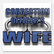 """COWIFE.jpg Square Car Magnet 3"""" x 3"""""""