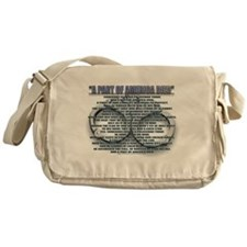 A PART OF AMERICA DIED Messenger Bag