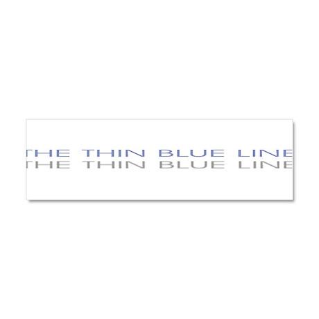 THINBLUELINE.jpg Car Magnet 10 x 3