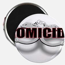 """HOMICIDE.jpg 2.25"""" Magnet (100 pack)"""