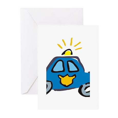 LITTLECAR1.jpg Greeting Cards (Pk of 10)