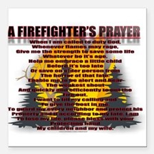 "FIRE2.jpg Square Car Magnet 3"" x 3"""