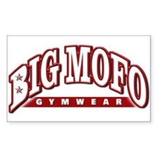 BIG MOFO Decal