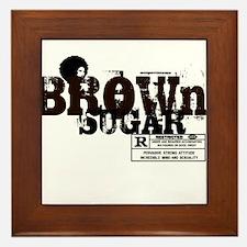 Brown Sugar T-shirt Framed Tile